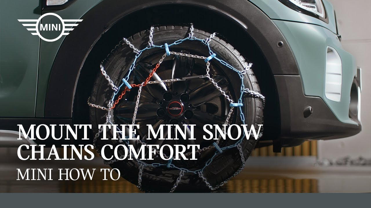 Mounting the MINI Snow Chains Comfort | MINI How To