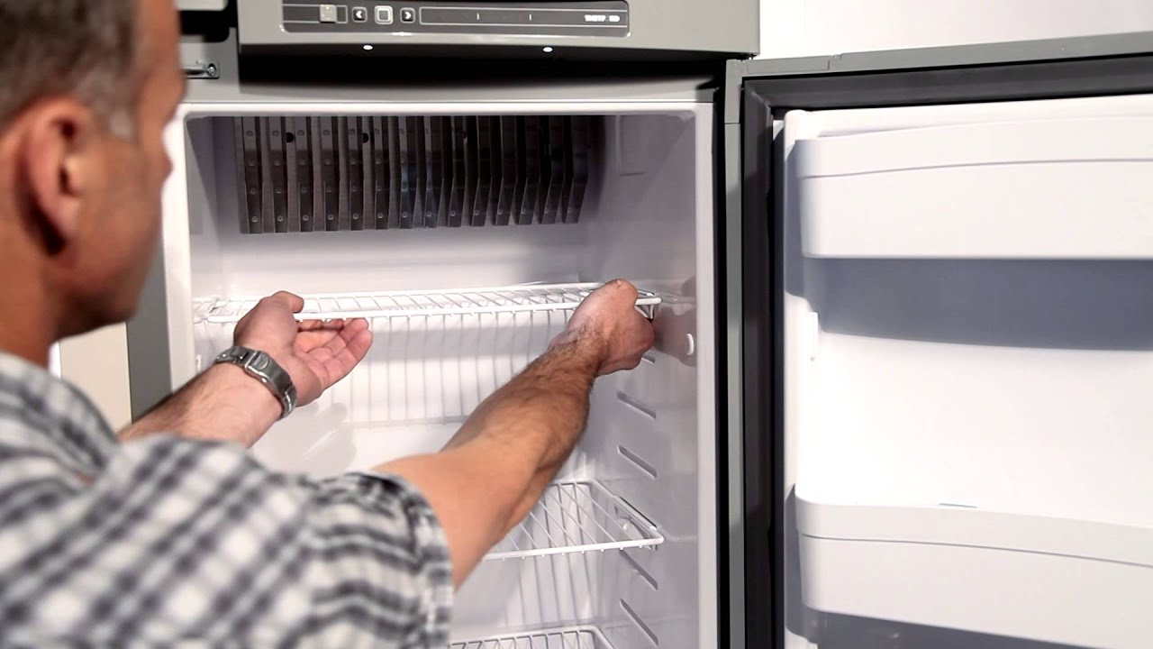 How to use the new N3000E fridge of Thetford  YouTube