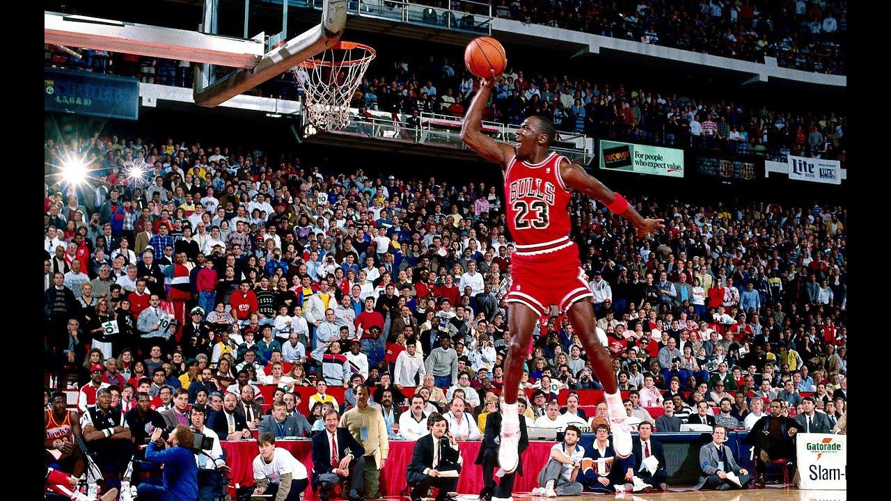 Hd Michael Jordan Dunk Mix Youtube