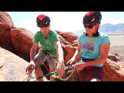How To Set Up A Simul-Rappel