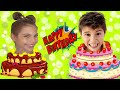 Doğum günü.Mikail Elis ve Merym doğum günü partiye gidiyorlar. Happy Birthday.@Maceraci Cocuklar