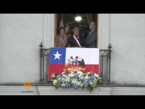 Bachelet sworn in again as Chile