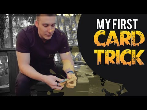 Easy Card Tricks Revealed   My First Ever Card Trick   Free Magic Tricks