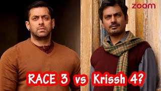 Race 3 Vs Krissh4 | Salman Khan To Face Off Nawazuddin Siddiqui In a Battle For The Best Villain? thumbnail