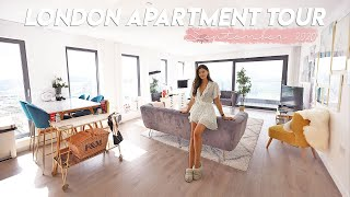 London Flat Tour! 2 Bedrooms, Gym, Balcony and more!