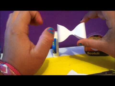 DIY:Paper bows