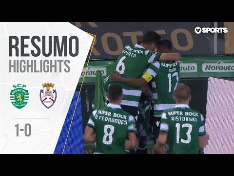 Highlights | Resumo: Sporting 1-0 Feirense (Liga 18/19 #4)