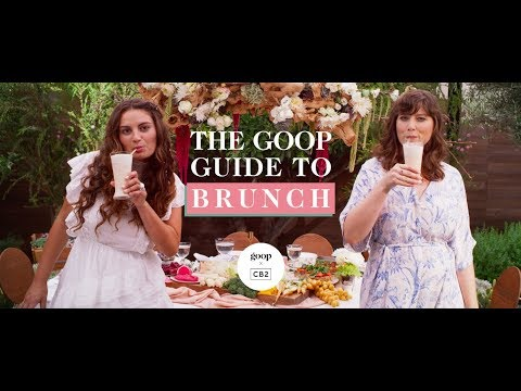 The Goop Guide To Brunch | Goop