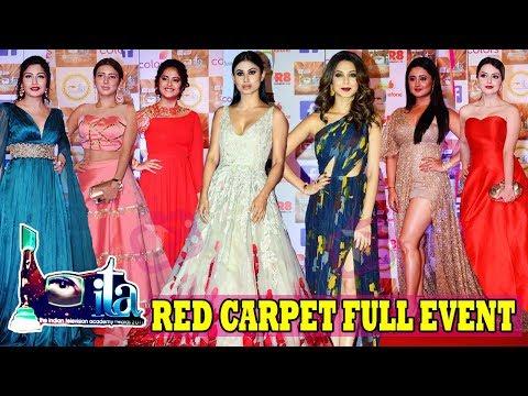 ITA Awards 2017 Full Show Red Carpet   Mouni, Jennifer, Adaa, Avika, Surbhi, Shivangi, Shrenu & Many
