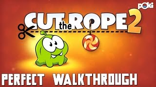 3 Stars! Cut The Rope 2 Perfect Walkthough
