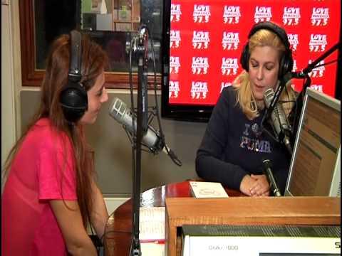 Η Ράνια Θρασκιά στο Studio του Love Radio 97,5