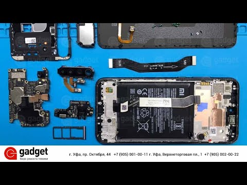 Разбор Xiaomi Redmi Note 8T / Xiaomi Redmi Note 8T Teardown