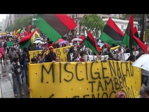 Brazilians Take to Streets to Highlight Racism Issues