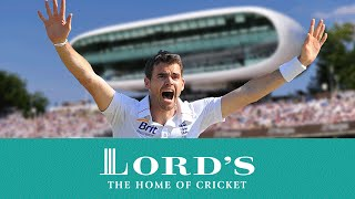 James Anderson's Lord's Test Wickets Record
