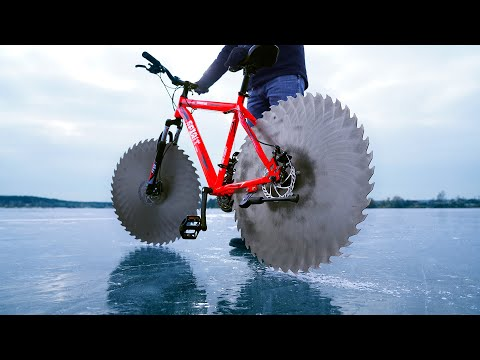 Epic Cycling on Ice thumbnail