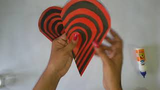 Heart shape Maze card  Tutorial / Greeting card