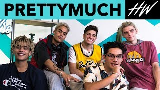 PRETTYMUCH Shares Their PERFECT Summer Playlist! | Hollywire