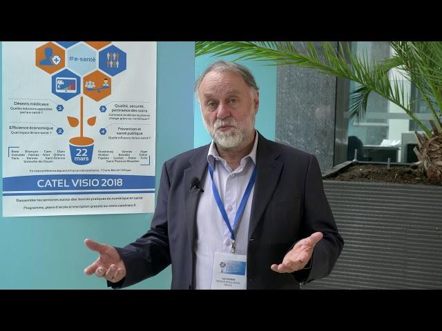 Interview du Dr Loïc Etienne : Medical Intelligence Service au CATEL VISIO 2018