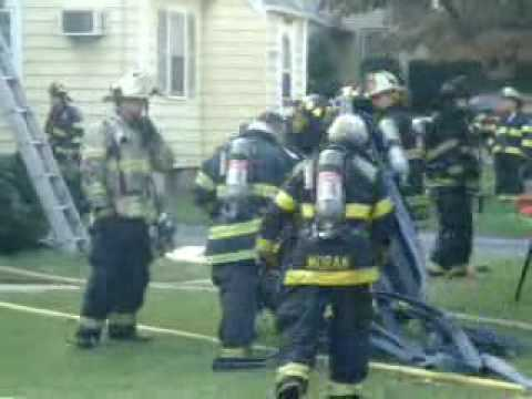 Maywood,nj FD *2nd alarm on arrival* 9/17/09  pt 1