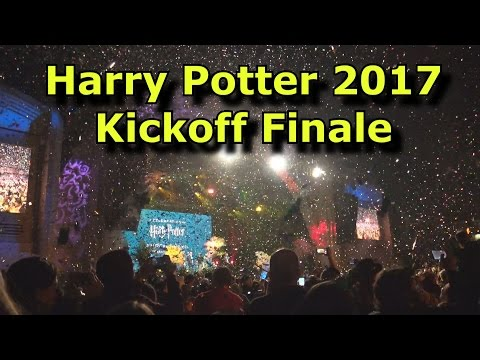 2017 A Celebration of Harry Potter Opening Night Ceremony FINALE - Universal Studios Florida