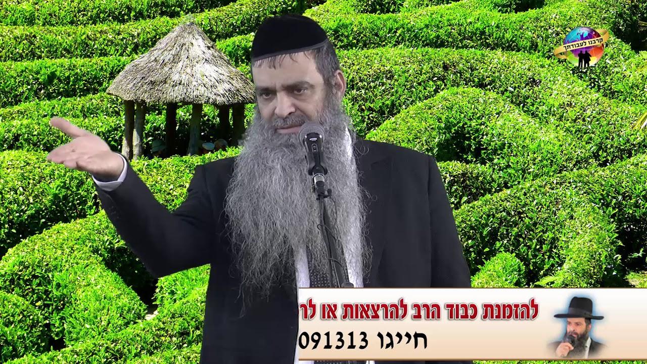 הרב רפאל זר HD   אין יהודי אבוד! - מחזק!