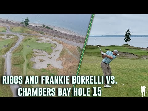Riggs And Frankie Battle Hole #15 At Chambers Bay