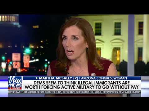 McSally on Tucker: Stop Holding Troops Hostage over Fake DACA Deal