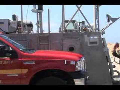 Marines fight fire on Catalina Island