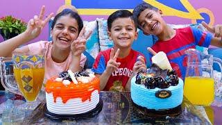 كيكة عيد الميلاد للأطفال !! Children's birthday cake