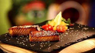 Рецепт недели: Форель в соево-медовом маринаде