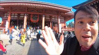 วัดอาซากุสะ หรือ วัดเซ็นโซจิ (Sensoji Temple / 浅草寺) เป็นหนึ่งในว...