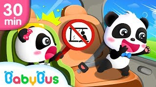 Safety Tips Series For Kids | Animation & Kids Songs collections For Babies | BabyBus
