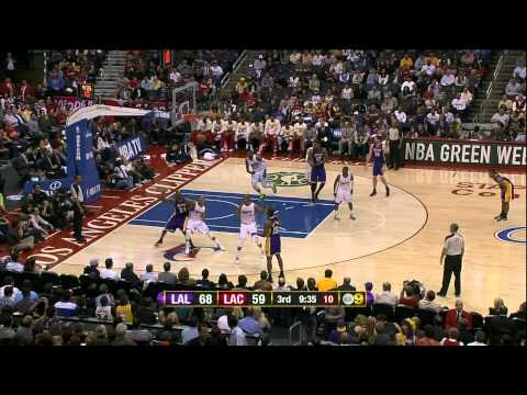 04 04 2012   Lakers vs  Clippers   Team Highlights