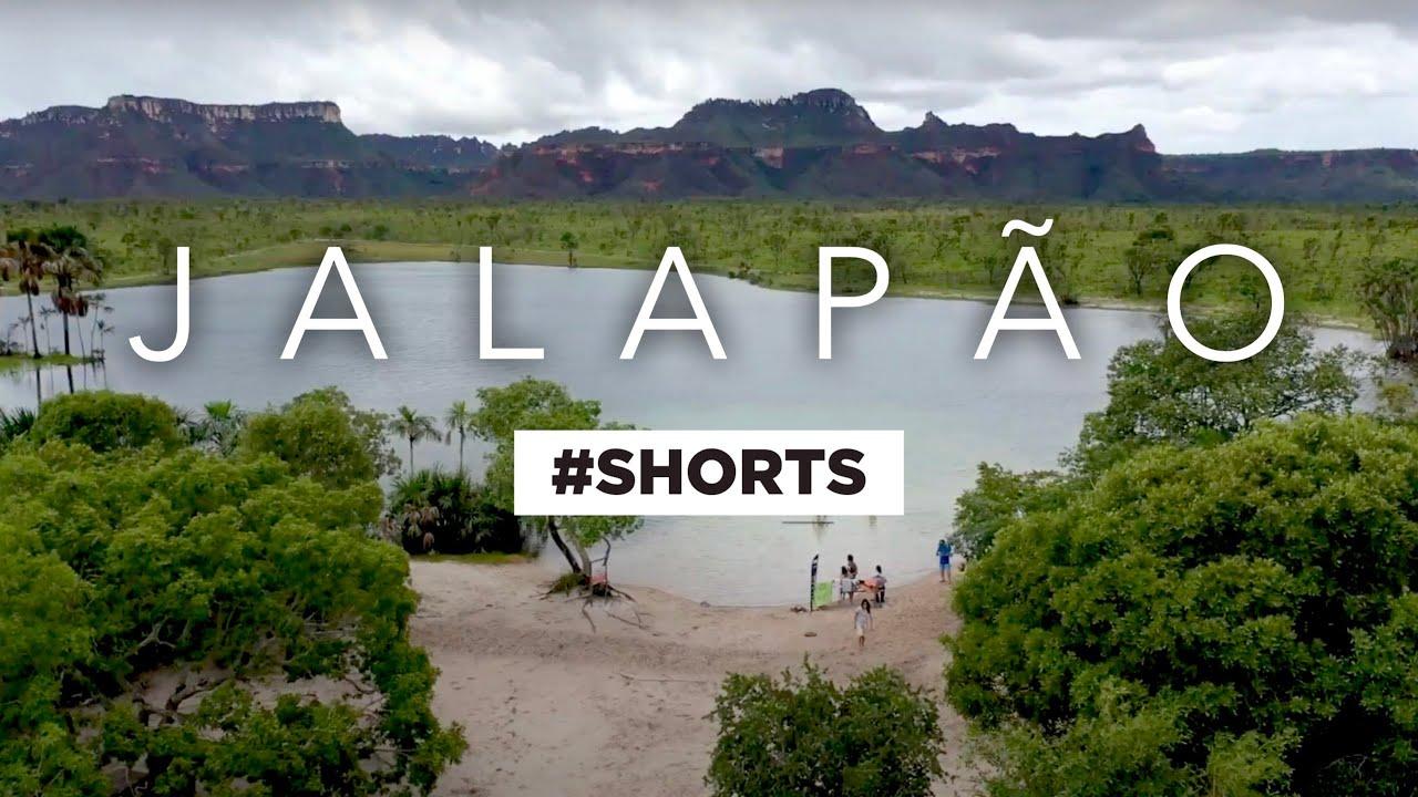 Lagoa da Serra • Série Jalapão #shorts