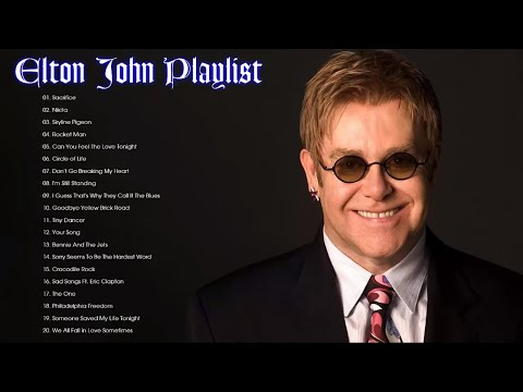 Elton John Best Songs - Elton John Greatest Hits Full Album