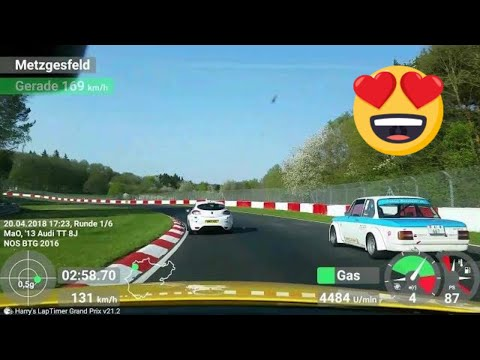 TT-RS Nordschleife [BtG] 20.04.2018 | Very Busy Warmup Lap | Traffic Jam