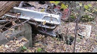 Exploring Lost Secret Room Under Junked Car In Forest