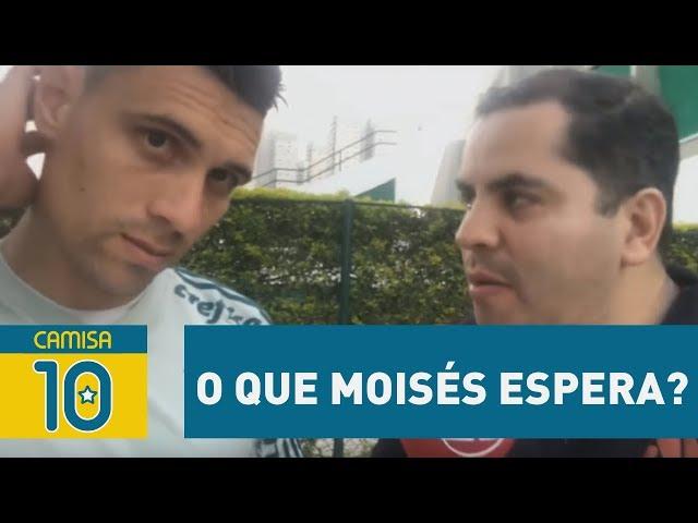 OLHA o que MOISÉS espera de Palmeiras x Santos!