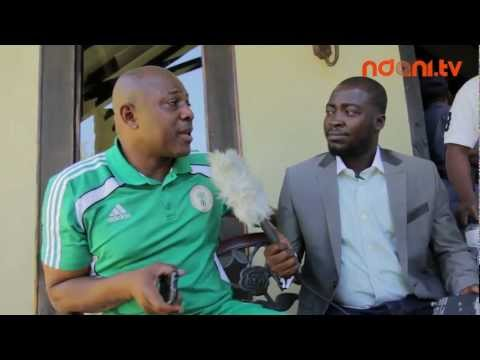 AFCON 2013 Diaries - Interview with Stephen Keshi