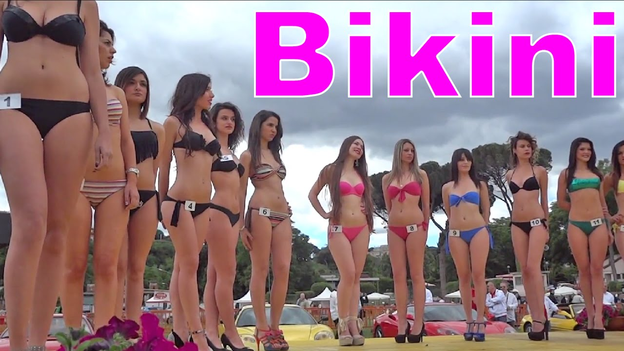 Hot Bikini Girls Contest Beautiful Gorgeous Models Ferrari
