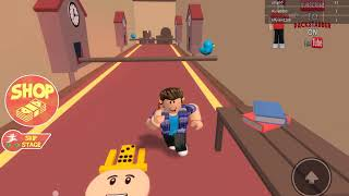 I run away from Roblox's craziest grandmother