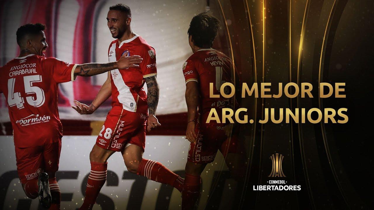Lo MEJOR de Argentinos Juniors en la Fase de Grupos de la CONMEBOL Libertadores 2021