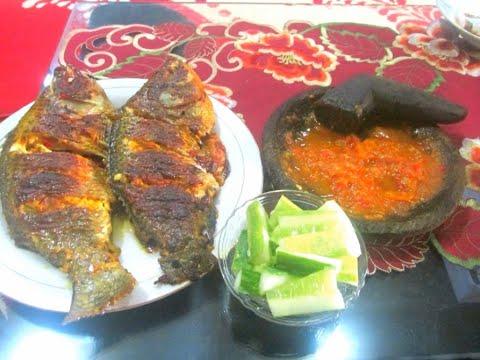 Cara Membuat Ikan Nila Bakar Teflon Pedas Manis