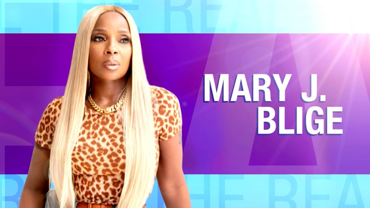 Thursday on 'The Real': Mary J. Blige