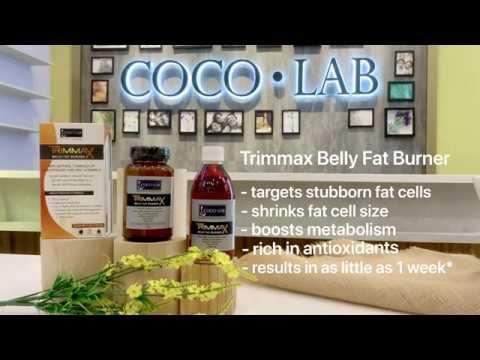 Trimmax Belly Fat Burner Powder - Get Rid of Stubborn Belly Fat for a Slimmer Waistline