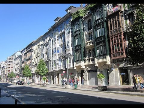 Places to see in ( Asturias - Spain ) Calle Uria