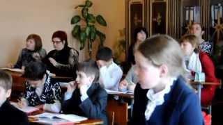 урок математики 3 класс (3ч)