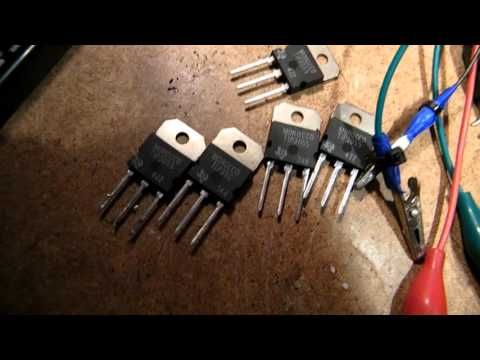 2N3055's with a too low amplification, throw them away?