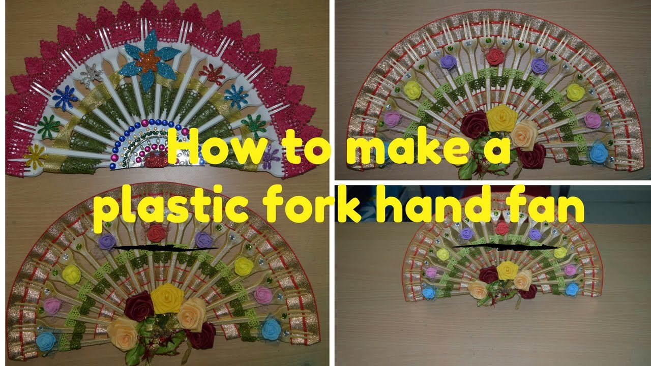 how to make hand fan