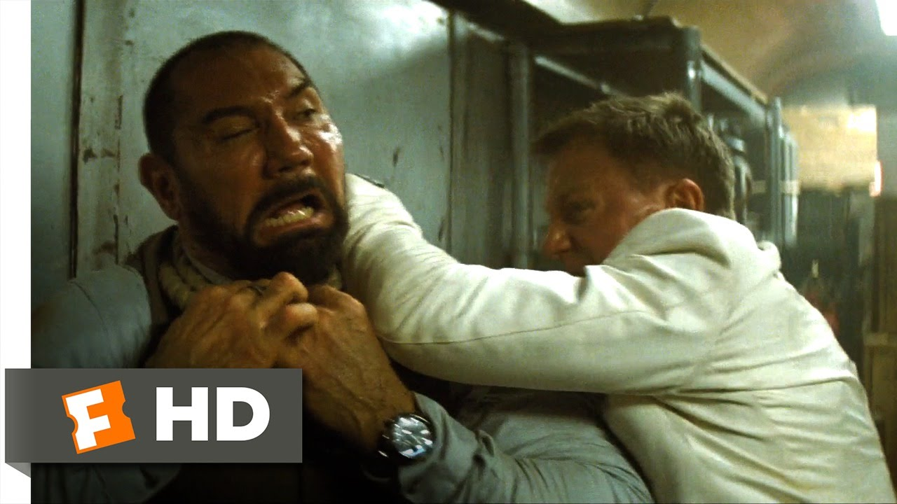 Spectre Train Fight Scene 7 10 Movieclips Youtube